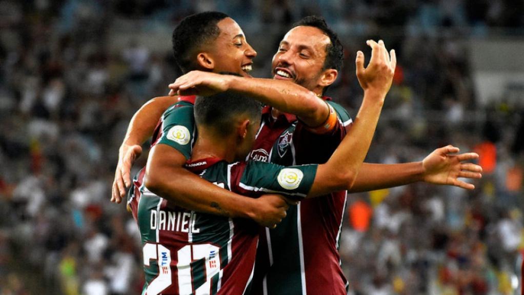Fluminense x Bahia - Comemoração