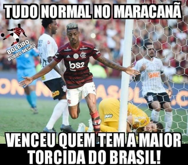 Os Melhores Memes Do Massacre Do Flamengo Sobre O