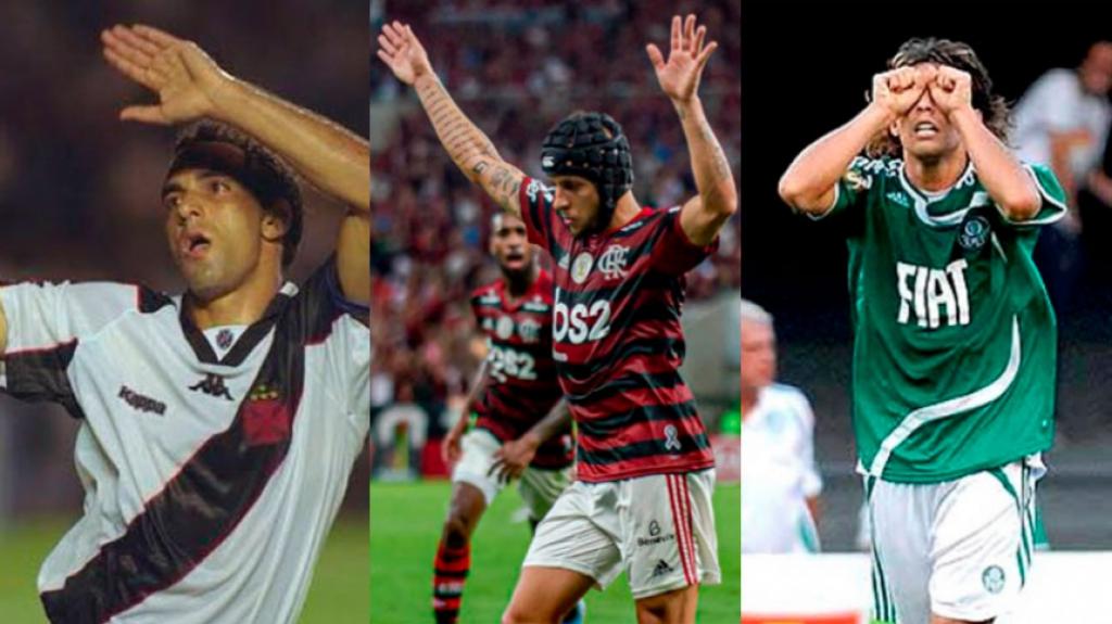 Relembre as comemorações mais polêmicas do futebol