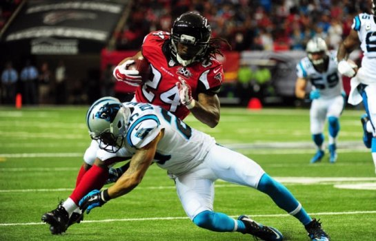 Panthers x Atlanta Falcons (Foto:Scott Cunningham / GETTY IMAGES NORTH AMERICA / AFP)