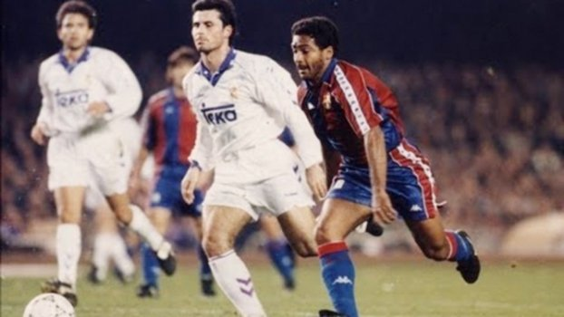 Romário fez parte do 'Dream Team' do Barcelona entre 1993 e 1994. Foram 53 gols em 84 partidas