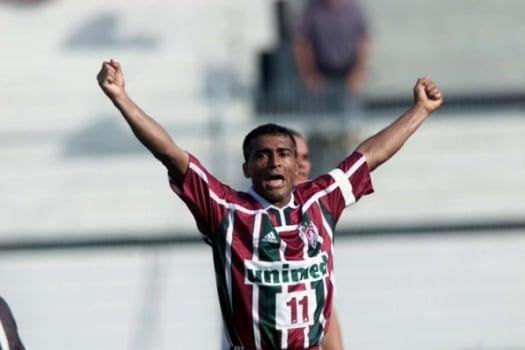 Romário teve bons momentos pelo Fluminense, mas não conquistou títulos