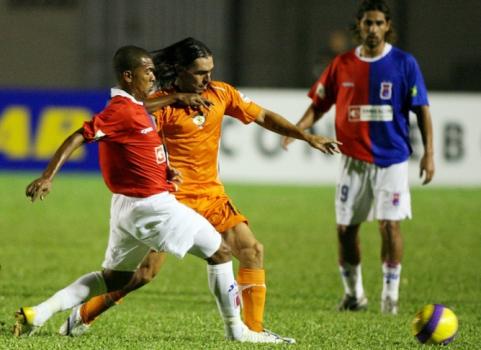 Também em 2007, o Paraná eliminou o chileno Cobreloa na primeira fase