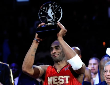 2011 - Bryant recebe seu quarto e último MVP do All-Star Game