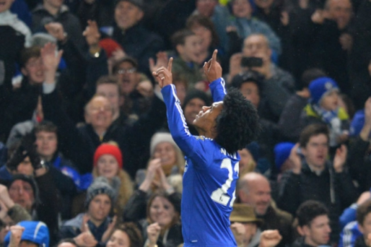 Willian - Chelsea x Newcastle