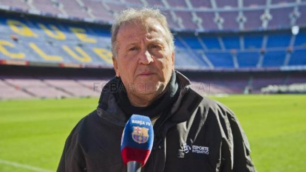 Zico no Camp Nou