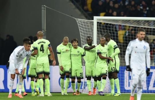 Dínamo de Kiev x Manchester City (foto:GENYA SAVILOV / AFP)