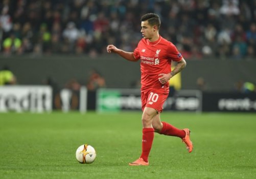 Philippe Coutinho - Augsburg x Liverpool