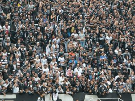 Torcida do Corinthians na Arena (Foto: Reginaldo Castro/LANCE!Press)