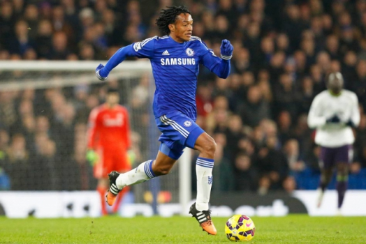 Juan Cuadrado - Premier League: Chelsea x Everton (Foto: Ian Kington/AFP)