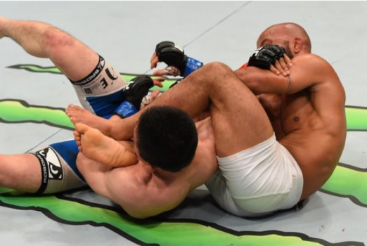 Demetrious Johnson x Kiojy Horiguchi (FOTO: UFC)