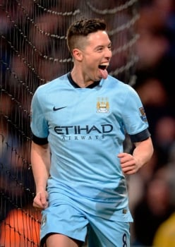 Samir Nasri - Premier League: Manchester City x Newcastle (Foto: Oli Scarff/AFP)