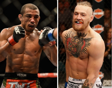 Jose Aldo, Conor McGregor (FOTOS: Marcos Furtado e UFC)