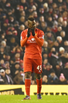 Mario Balotelli - Premier League: Liverpool x Tottenham (Foto: Paul Ellis/AFP)