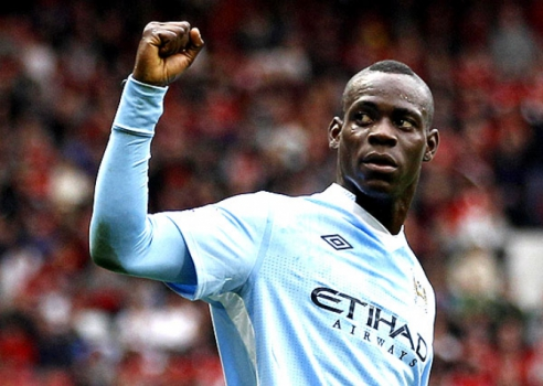 Balotelli - Manchester City (Foto: Darren Staples/Reuters)