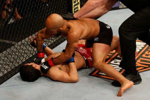 Demetrious Johnson x Joseph Benavidez (FOTO: Getty Images)