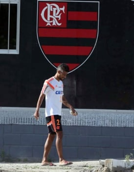 Leo Moura - Treino do Flamengo (Foto: Cleber Mendes/ LANCE!Press)