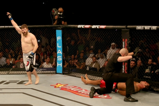 Roy Nelson, Minotauro (FOTO: Getty Images)
