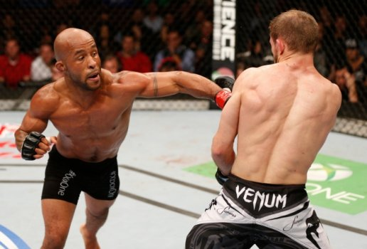 Demetrious Johnson x Ali Bagautinov (FOTO: Getty Images)