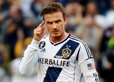 David Beckham - Los Angeles Galaxy (Foto: Robyn Beck/AFP)