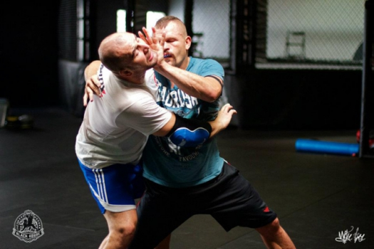 Glover Teixeira e Chuck Lidell (Fotos: Mike Lee/Black House)