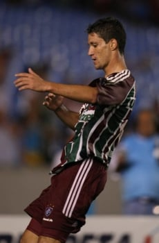 69c2b3fadd Jogo Flamengo 1 x 4 Fluminense. Thiago Neves comemorando o gol  (Foto