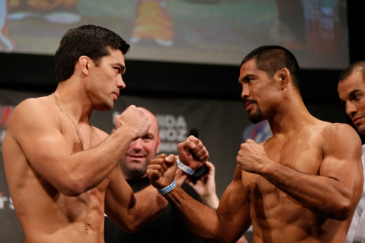 Lyoto Machida x Mark Muñoz (FOTO: Getty Images)