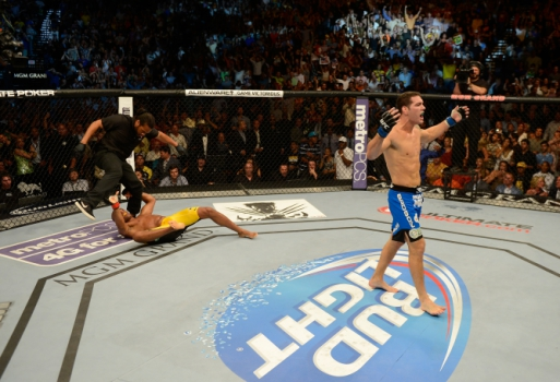 Chris Weidman (FOTO: Getty Images)