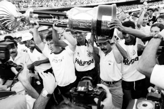 Corinthians  - Campeão Brasileiro 1990 (Foto: Agência Estado)
