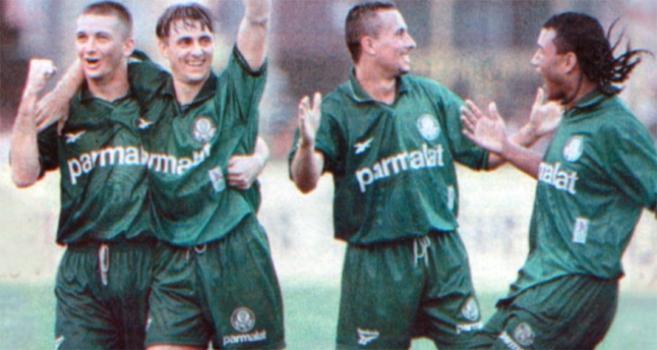 Palmeiras x Santos - Copa do Brasil 1998 (foto  Helio Norio LANCE! dc01658b218b2