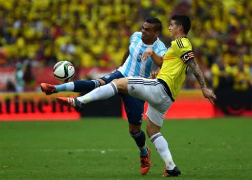 Eliminatorias - Colombia x Argentina (fotot:AFP)