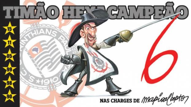 Resultado de imagem para charges Jadson do Corinthians