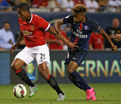 Valencia - Manchester United x PSG (Foto: Jonathan Daniel / Getty Images / AFP)