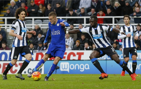 Newcastle x Leicester (Foto: LINDSEY PARNABY)
