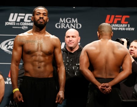 Jon Jones e Daniel Cormier