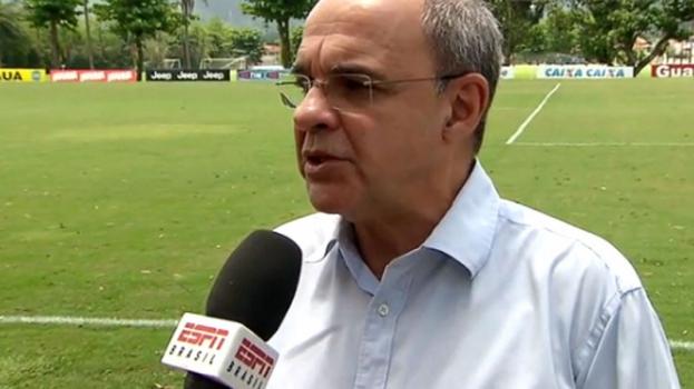 HOME - Eduardo Bandeira de Mello fala sobre permanência de Oswaldo de Oliveira no Flamengo (Foto: Reprodução/ESPN)