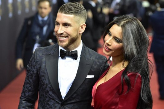 Pilar Rubio, a acompanhante do defensor do Real Madrid Sergio Ramos, chamou atenção na festa