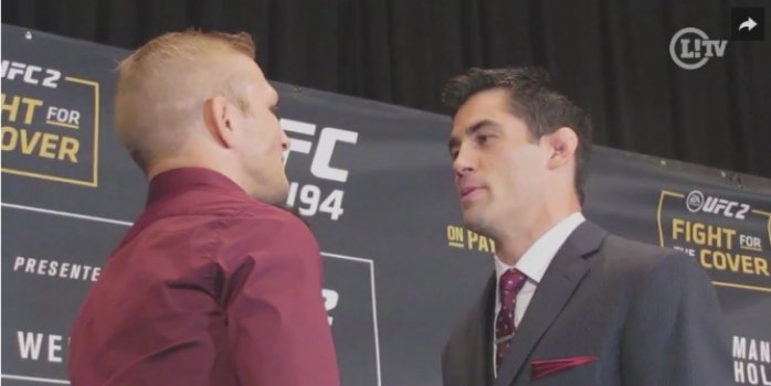 TJ Dillashaw e Dominick Cruz se encaram antes do UFC Boston