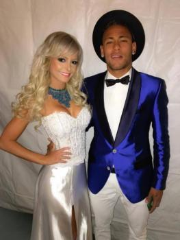 Jhenny Andrade e Neymar
