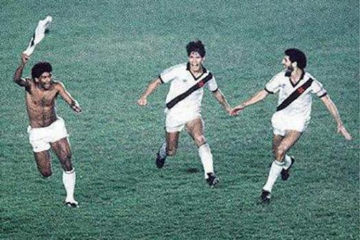 Cocada fez o gol salvador que garantiu o título do Vasco em 1988