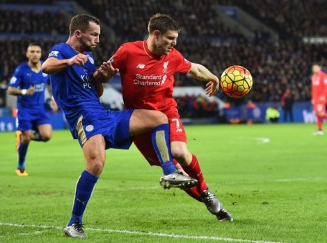 LEICESTER x LIVERPOOL (foto:Ben STANSALL / AFP)