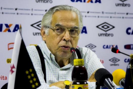 Eurico Miranda (Foto: Paulo Fernandes/Vasco)