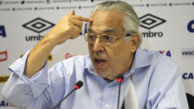 HOME - Entrevista coletiva no Vasco - Eurico Miranda (Foto: Paulo Sérgio/LANCE!Press)