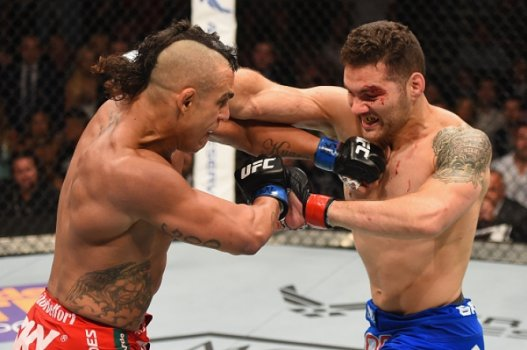 Chris Weidman, Vitor Belfort (FOTO: Getty Images)