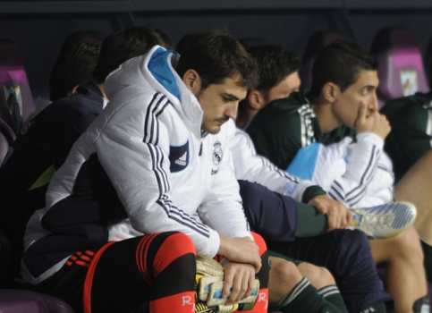 Malaga x Real Madrid - Casillas (Foto: Pedro Armestre/AFP)