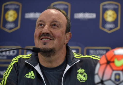 Rafa Benítez - Coletiva Real Madrid (Foto: Paul Crock / AFP)