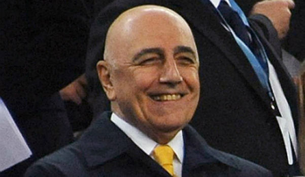 Galliani, vice-presidente do Milan (Foto: AFP)