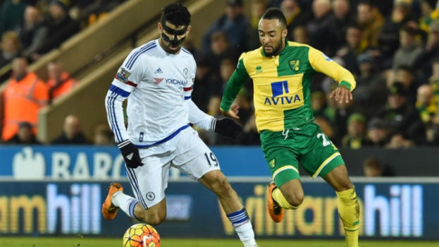 HOME - Norwich x Chelsea - Campeonato Inglês - Diego Costa (Foto: Ben Stansall/AFP)