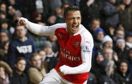 Tottenham x Arsenal - Gol Alexis Sánchez f164d9856a9f7