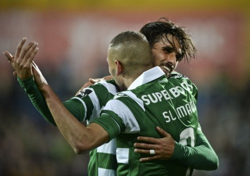 Slimani - Estoril x Sporting